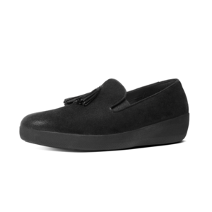 FitFlop Tassel Superskate loafer C21/zwart