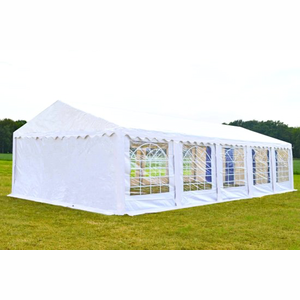 Partytent 5x10 Classic PVC Brandvertragend Wit
