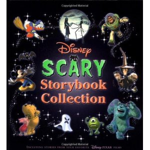 Boek Disney Scary Storybook Collection