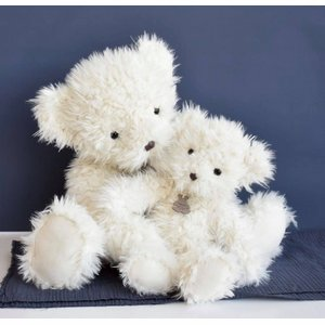 Witte teddybeer 40cm Histoures D'Ours