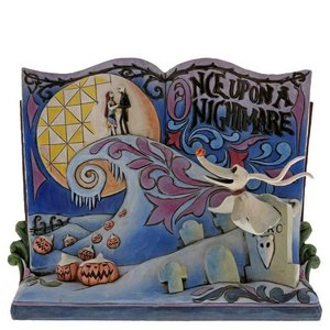 Disney Traditions Once Upon A Nightmare Before Christmas Storybook