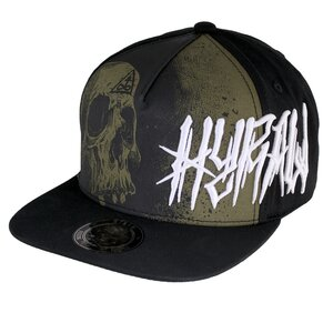 """Hyraw snapback cap Misery """"Made in hell"""""""