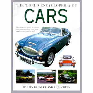 Boek The World Encyclopedia of Cars - Martin Buckley Chris Rees