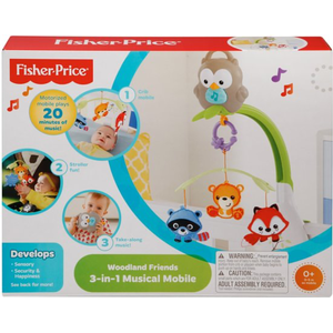 Fisher-Price - 3-in-1 Woodland Mobiel