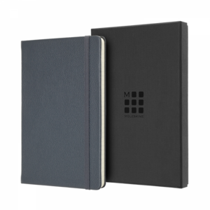 Moleskine Notitieboek Classic Leather collection large gelijnd AVIO BLUE