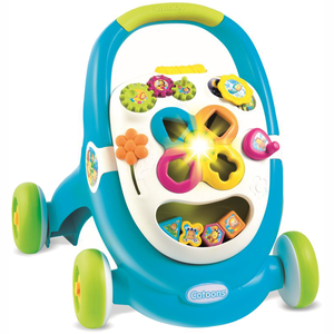 Smoby - Cotoons - Walk & Play - Blauw