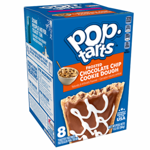 Pop Tarts - Frosted Chocolate Chip Cookie Dough