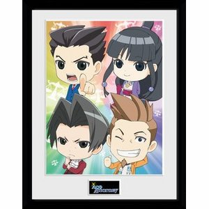 Ace Attorney - Chibi