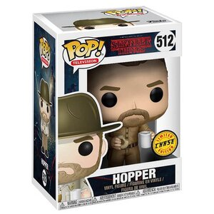 Pop! Television: Stranger Things - Hopper with Donut Limited Chase Edition
