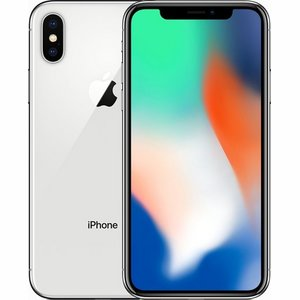 Apple iPhone X Zilver 256 GB