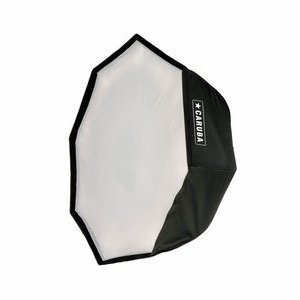 Caruba Quick Assembly Matte Zilver Round Softbox 95cm