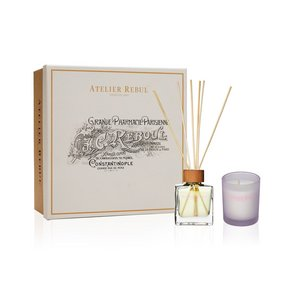 Jasmine Fragrance Sticks and Scented Candle Giftset
