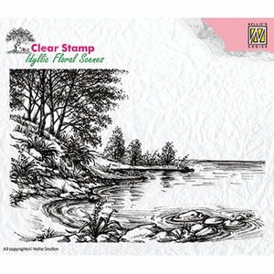 Clear stamp Nellie choice water edges