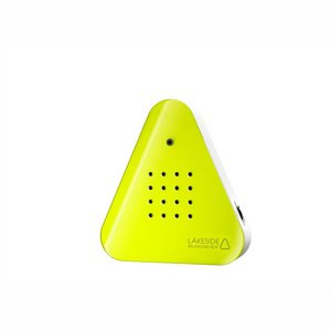 Lakeside box Neon yellow/White