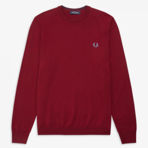 Fred Perry Heren Pull - 1902-K7601 Dark Red