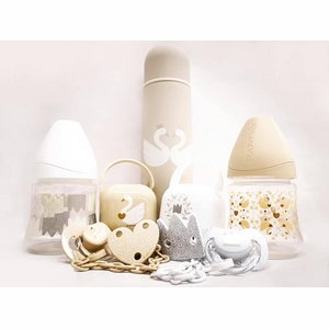 Luxe 4-delige cadeauset - Swan Gold/Silver