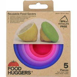 Food Huggers set of 5 Bright Berry