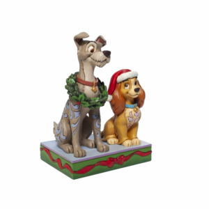Disney Traditions - Decked out Dogs (Lady and the Tramp Figurine)