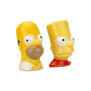 "Peper & zout set ""The Simpsons"" D.4cm"