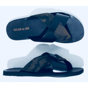 Cycleur de Luxe Slippers Mau CDLM191022I Black Camouflage