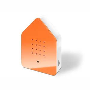 Bird box Orange/white