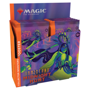 INNISTRAD MIDNIGHT HUNT COLLECTOR BOOSTER DISPLAY