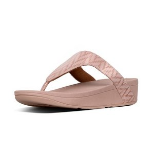 FitFlop Teenslippers R18 Lottie Chevron roze