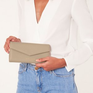 Portefeuille - Esme Envelope - Always Spend in Style - Taupe