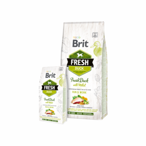 Brit Fresh Duck with Millet for Active Dogs 12 kg