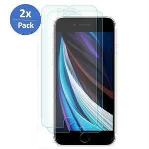 2x Pack Glas Screen Protector iPhone 7