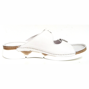 Andrea Conti Slippers 0521700 wit
