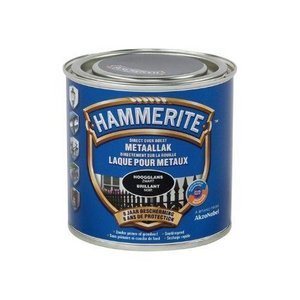 Hammerite Hoogglanslak Noir 250 ML
