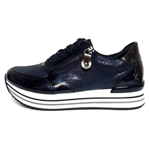 Remonte lage sneakers D1300-14 donkerblauw