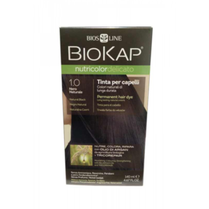 Biokap Nutricolor Delicato 1.0 Natural Zwart 140Ml