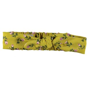 Headband Romantic Flowers-Ocre-19835-039