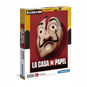 Money Heist Puzzle Mask