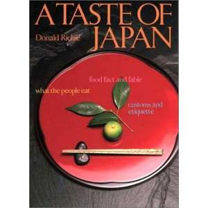Kookboek A Taste of Japan - Donald Richie
