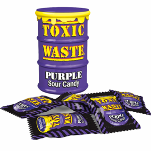 Toxic Waste Purple Sour Candy Drum 42 gr.