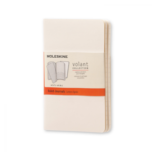 Moleskine notebook pocket volant wit gelijnd