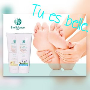 Bio Balance care & refresh voetcreme 75ml