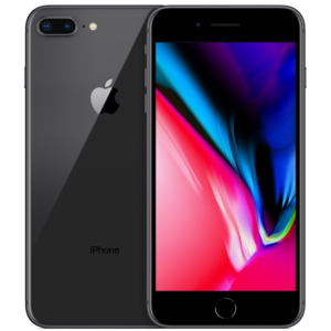iPhone 8+ Zwart