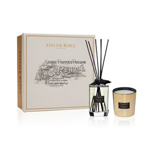 Vanilla Noir Fragrance Sticks and Scented Candle Giftset