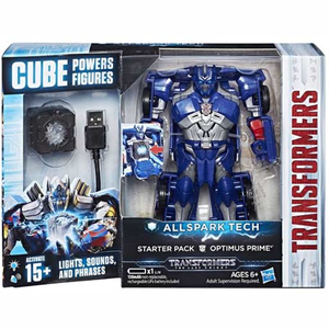 Transformers The Last Knight Optimus Prime Power Cube Starter Pack