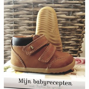 Peuter schoentjes Step up Timber boot Mustard