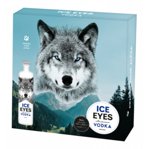 Ice Eyes Vodka Giftbox (2x glass, 1x ice eyes 70cl vodka)