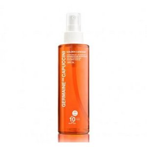 Germaine De Capuccini Tan Activating and Subliming Sun Oil SPF 10 Dry Oil Tinted 200 ML