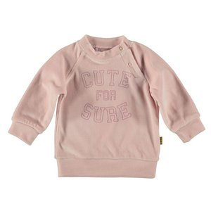 Sweater Velvet Cute for Sure-Pink-19811-007