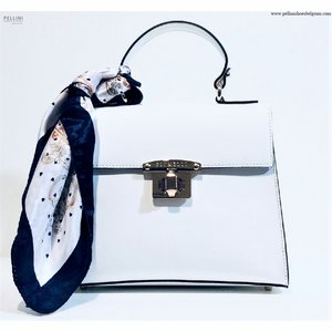 Piumelli Bag Irene M Leather White