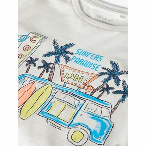 Name it facation tshirt mini wit