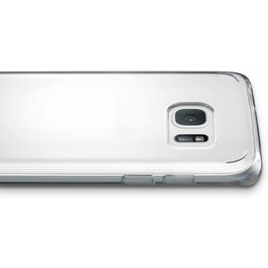 Cellularline Back Cover voor Samsung Galaxy S7 Edge Transparant